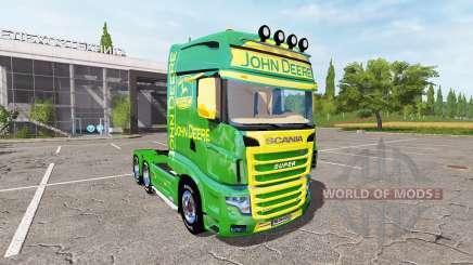 Scania R700 Evo John Deere pour Farming Simulator 2017