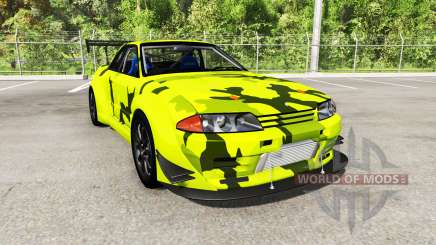 Nissan Skyline GT-R (R32) Rocket Bunny pour BeamNG Drive