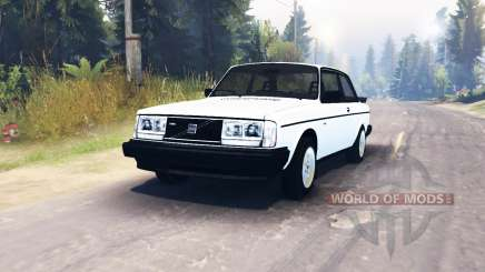 Volvo 242 Turbo 1983 pour Spin Tires