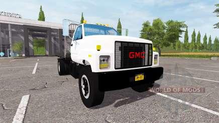 GMC C7500 TopKick flatbed pour Farming Simulator 2017
