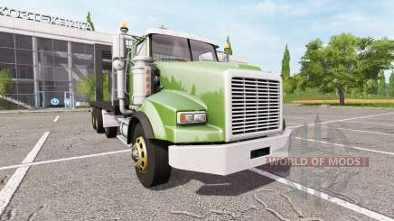 Lizard SX 210 Twinstar Flatbed 4-axles pour Farming Simulator 2017