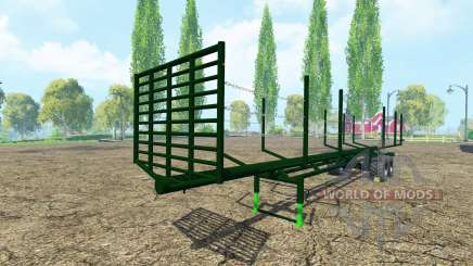 Semi-trailer timber pour Farming Simulator 2015