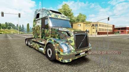 Armee-skin für den Volvo truck VNL 670 für Euro Truck Simulator 2