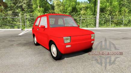 Fiat 126p v4.0 pour BeamNG Drive