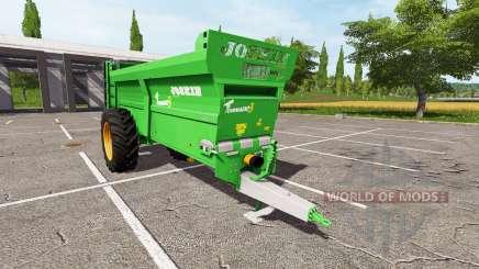 JOSKIN Tornado3 v2.0 pour Farming Simulator 2017