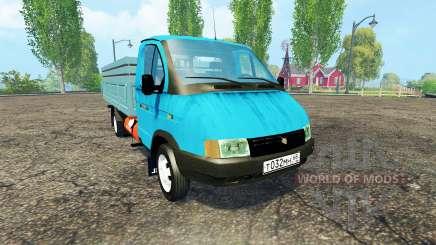 GAZ 3302 GAZelle pour Farming Simulator 2015