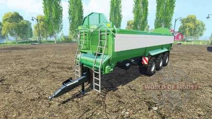 Krampe Bandit 980 green pour Farming Simulator 2015