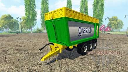 Grazioli Domex 200-6 multicolor pour Farming Simulator 2015