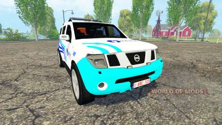 Nissan Pathfinder (R51) Belgian Local Police für Farming Simulator 2015