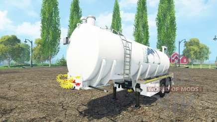 Kotte Garant TSA Parmalat v1.1 pour Farming Simulator 2015