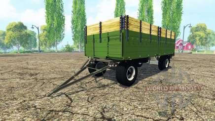 ITAS flatbed trailer pour Farming Simulator 2015