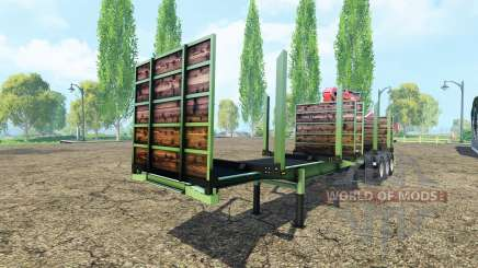 Timber trailer Fliegl für Farming Simulator 2015