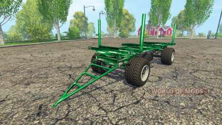 Zaccaria wood trailer pour Farming Simulator 2015