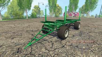 Zaccaria wood trailer für Farming Simulator 2015