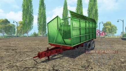 Silage Tandem Trailer pour Farming Simulator 2015