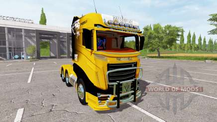 Scania R1000 Caterpillar für Farming Simulator 2017