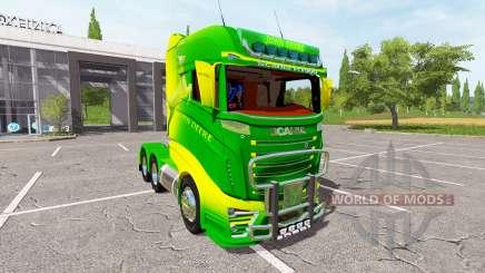 Scania R1000 John Deere für Farming Simulator 2017