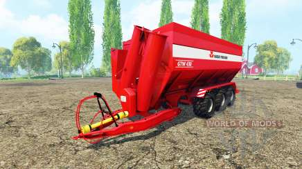 Massey Ferguson GTW 430 pour Farming Simulator 2015