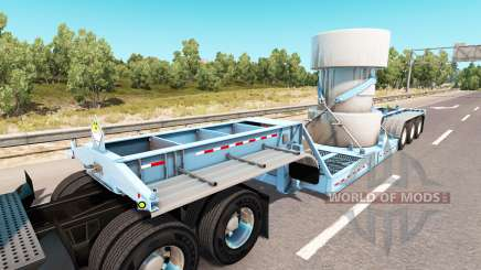 Bas de balayage avec une cargaison de déchets nucléaires pour American Truck Simulator