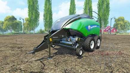 New Holland BigBaler 1290 gras bale v2.0 pour Farming Simulator 2015