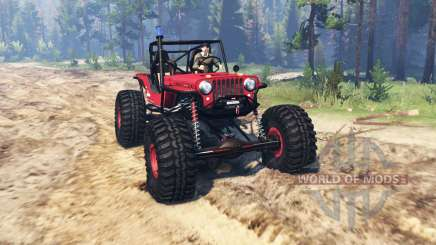 Jeep Willys CJ2A TTC pour Spin Tires