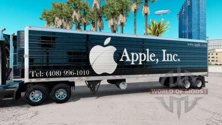 Une collection de peaux de semi v5.0 pour American Truck Simulator