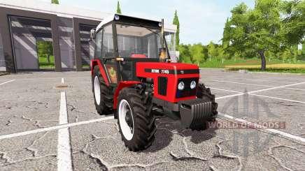 Zetor 7745 pour Farming Simulator 2017