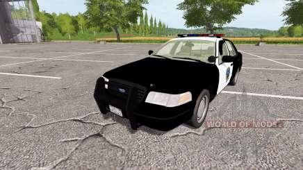 Ford Crown Victoria Police v1.1 pour Farming Simulator 2017