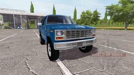 Ford Bronco XLT pour Farming Simulator 2017