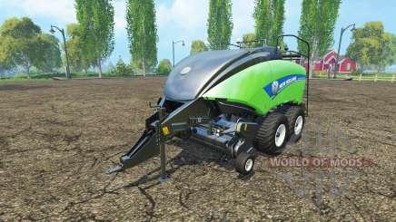 New Holland BigBaler 1290 gras bale v4.0 pour Farming Simulator 2015