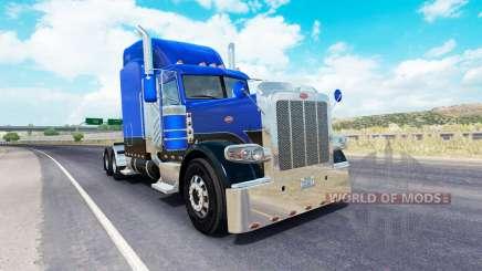 Lignes de la peau de 4 sur le camion Peterbilt 389 pour American Truck Simulator