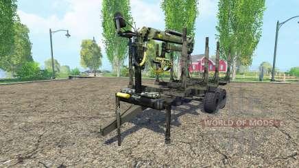 Timber trailer pour Farming Simulator 2015