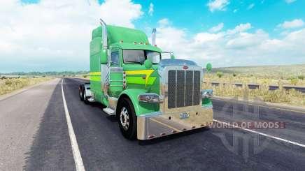 La peau des Lignes de 3 sur le camion Peterbilt 389 pour American Truck Simulator