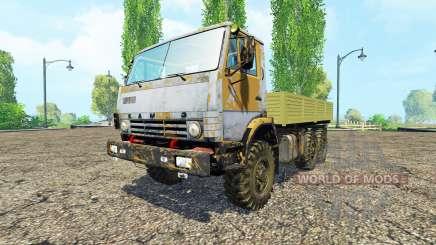 KamAZ 43114 v1.1 für Farming Simulator 2015