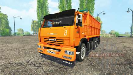 KamAZ 45143 pour Farming Simulator 2015
