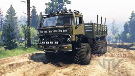 KamAZ 4310 Phantom v1.1 pour Spin Tires