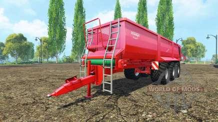 Krampe Bandit 980 pour Farming Simulator 2015