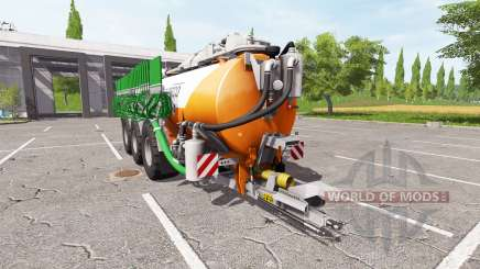 Kaweco 30000l orange pour Farming Simulator 2017