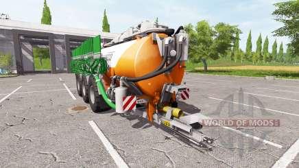 Kaweco 30000l orange für Farming Simulator 2017