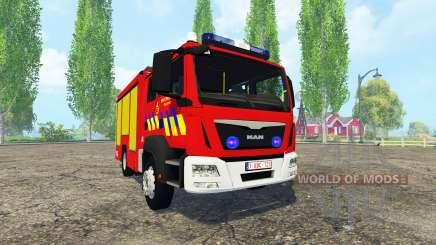 MAN TGM Belgian Fire Department für Farming Simulator 2015