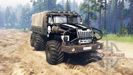Ural 4320 OneShot v0.1 für Spin Tires