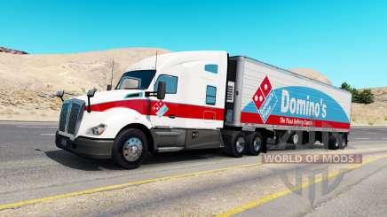 Peaux pour la circulation des camions v1.0.2 pour American Truck Simulator