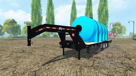 PJ Trailers Gooseneck fertilizer pour Farming Simulator 2015