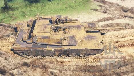 M1 Abrams pour Spin Tires