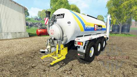 Bossini B200 v3.2 pour Farming Simulator 2015