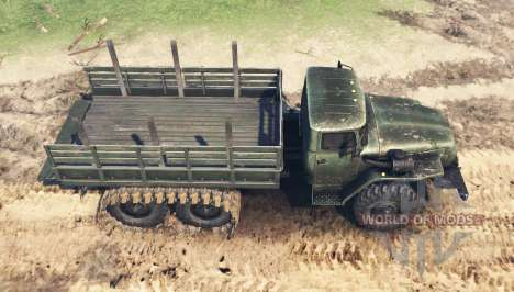 Ural 4320 Marais pour Spin Tires
