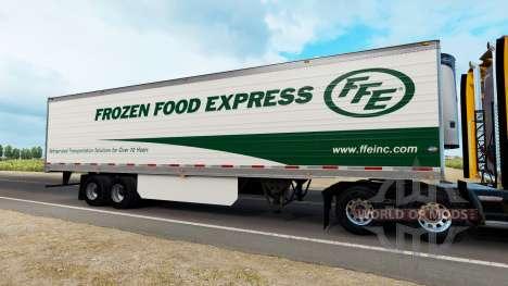 Firmenlogos für Anhänger für American Truck Simulator