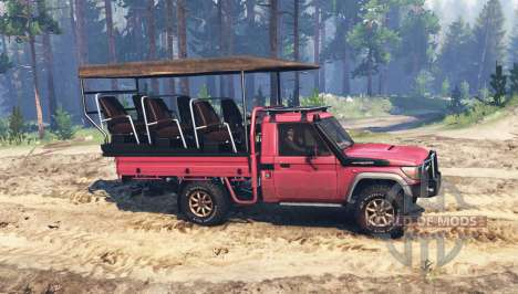 Toyota Land Cruiser 70 (J79) pour Spin Tires