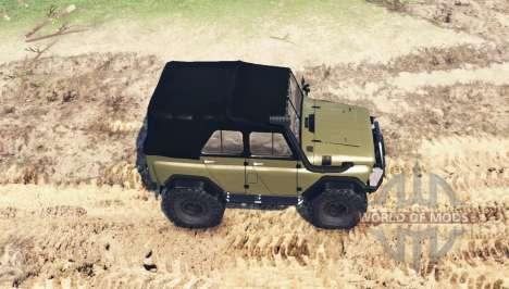 UAZ 469 v1 Fantôme.1 pour Spin Tires