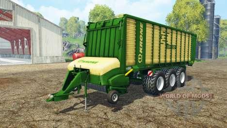 Krone ZX 550 GD pour Farming Simulator 2015